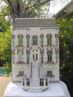 """Robin Carey -  """"The Orchid House """",  Italianate Style ; sold on ebay for $999"""