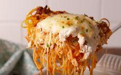 RECEPT: hoe geniaal is deze spaghetti-lasagne?