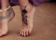 foot tattoo anyone?