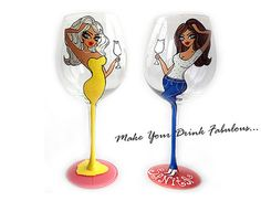Hand Painted Wine Glass Party wedding birthday by AlenaShop, $32.00 Personalized Hand Painted Wine Glass goblet Flute by AlenaShop, $16.20 Christmas candy collection birthday Personalized Hand Painted Wine Glass goblet Flute by AlenaShop, $32.00 animal print leopard hen party bachelorette table ideas flute wedding centrepiece favours bride groom theme idea dress gown beach colour scheme vogue Lolita bridal sweet 16th 40th 50th 30th 21st 52th birthday party girly neon bright gift