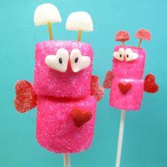 marshmallow love bugs