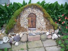 Garden Fairy Houses Twigs | After seeing the little twig fairy chair and little fairy house, I had ...