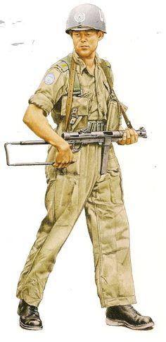 Swedis Army (UN) Katanga 1969