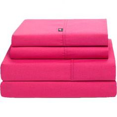 Tommy Hilfiger 200 Thread Count High Signature Sheet Set In Berry Rose Sheet Thread Count Sheet Sets Tommy Hilfiger Bedding