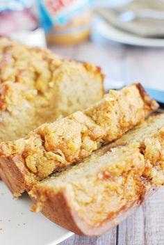 PB&J Banana Bread - delicious banana bread recipe with peanut butter and…