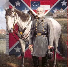 *GENERAL ROBERT EDWARD LEE & TRAVLLER~Service/branch: Seal of the United States Board of War.US Army, Confederate Army;Yrs of service:1829–1861(U.S. Army);1861–1865(C.S. Army); Rank:Union Army colonel rank insignia. Colonel(U.S. Army),Confederate States of America General-collar.General (C.S. Army);Commands held:Superintendent,U.S. Military Academy Army of Northern VA; Battles/wars:Mexican–American War,Harpers Ferry Raid,American Civil War;Other work: President of Washington and Lee…