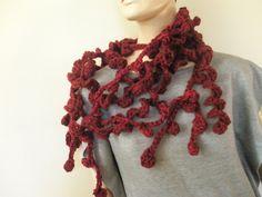 Profondo rosso collana-sciarpa