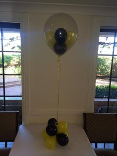 Balloon art create attractive birthday party balloon decorations in Sydney. We delivery birthday balloon bouquets, Helium balloons, Party balloons etc. Balloon Table Centerpieces, Balloon Arrangements, Centrepieces, 1st Birthday Balloons, Birthday Balloon Decorations, Balloon Bouquet, Gumball, Birthday Celebration, Special Occasion