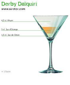 Recette Cocktail DERBY DAÏQUIRI