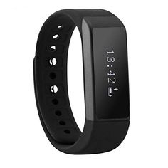CE ROHS approval Smart Bracelet i5 plus Waterproof Fitness Tracker Sleep Monitor Calories Track Activity Tracker Smart Bracelet Wristband Smartband Black ** Click image to review more details.