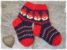 Paula Kristiina Knitting For Kids, Knitting Socks, Hand Knitting, Knitting Patterns, Knit Socks, Crafty Kids, Bunt, Mittens, Ravelry