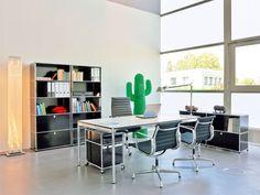 USM Haller Schreibtische sind einfach ein Design-Traum.    http://www.cairo.de/USM-Haller/USM-Schreibtisch.html