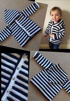 Crochet For Children: Sweet Baby Hoodie - Free Pattern