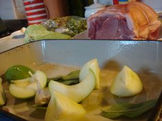 Roast Pork with Apples, Onions and Sage