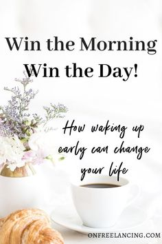 Find out how waking up early can change your life and help you reach all your dreams and goals. Earn More Money, How To Make Money, Self Improvement Tips, Home Improvement, Find Jobs Online, Time Management Tools, Productivity Hacks, Feeling Stuck, Self Development