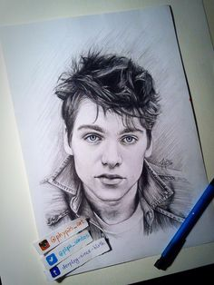 9 Awesome Pieces Of 'Teen Wolf' Fan Art - The Collective: Teen Wolf - MTV | Dylan Sprayberry by pipa_art