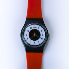 Vintage Swatch Watch 1984 Chrono-Tech Swatch by ephemerascenti