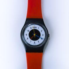 Vintage Swatch Watch 1984 Chrono-Tech Swatch by ephemerascenti