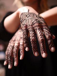 A's Moroccan Spring | Flickr - a Moroccan henna design for a textile designer.