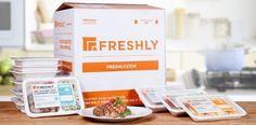 Freshly.com gourmet ready-made meals.