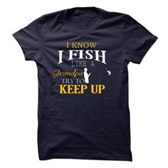LIMITED EDITION - FISH LIKE A GRANDPA T-SHIRT #tee #clothing