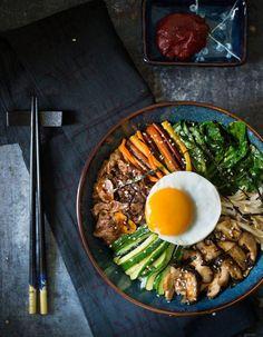 Bibimbap : un plat coréen pour manger varié et équilibré...