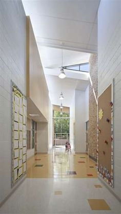 Barrington Early Childhood Center, Designed by Perkins+Will via @SchoolDesigner
