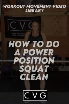 Welcome to our movement library! You are on your way to healthy and strong gains! This video will go over the power position power snatch movement. You Fitness, Fitness Goals, Crossfit Workouts At Home, Video Library, High Intensity Workout, Ways To Burn Fat, Kettlebell, Fitness Fashion, Squats