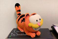 Pattern Crochet: Garfield (PDF File...Instant Digital Download)