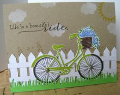 Cards, Quilts and Kittys: Bikes, Bikes Everywhere!