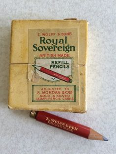 Royal Sovereign by E Wolff & Sons Refill Pencils