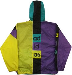 Image of Vintage Adidas Rain Jacket Size Large