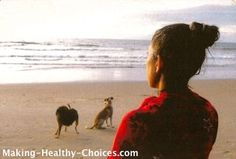Meditation by Ocean.  Click through to read the many benefits of meditation.