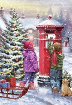 New York Christmas Tree, Snoopy Christmas, Old Fashioned Christmas, Christmas Scenes, Christmas Wood, Retro Christmas, Christmas Bells, Christmas Pictures, Winter Christmas