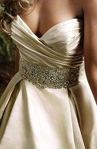 detalle de vestido de novia