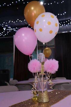 birthday greetings Princess Glitz Pink & Gold Birthday Party Ideas Photo 1 of 13 Catch My Party Pink Gold Party, Pink And Gold Birthday Party, Golden Birthday, Baby Girl Birthday, Princess Birthday, Baby Shower Princess, First Birthday Parties, First Birthdays, Birthday Ideas