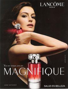 Anne Hathaway for Lancôme Paris