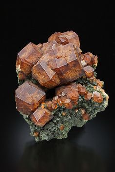 :^) Andradite Garnets and Hedenbergite from Greece