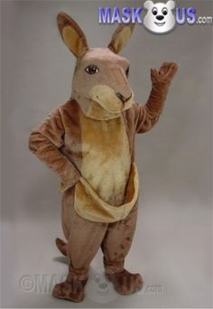 Kanga Mascot Costume 41298 is part of our Animal Mascots Forest Animals Polyfoam line. The mascot costume head is constructed out of molded foam and latex for superior detail and durability and includes a screened vision panel, comfort ventilation panels, and a built-in cooling fan. Mascot costume fits most adults ranging from 5'4 inches (162 cm) to 6'2 inches