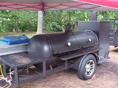 Bbq Pit Smoker, Diy Smoker, Barbecue Pit, Bbq Grill, Custom Bbq Smokers, Custom Bbq Pits, Fire Cooking, Outdoor Cooking, Bar B Que Grills