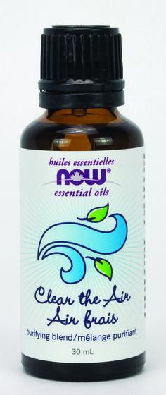 Now Clean the Air Essential Oil Blend 30ml | Sunrise Health Foods