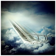 stairway to heaven by rattattart.deviantart.com on @deviantART