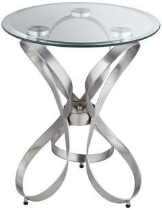 Bennie Contemporary Ribbon Round Accent Table Universal Lighting and Decor http://www.amazon.com/dp/B00ECXDCTC/ref=cm_sw_r_pi_dp_gp71tb1PQZ662FGP