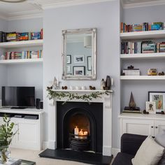 Modern and light, this newly-decorated home shows how use cool Scandi style to inject warmth and character into a period home