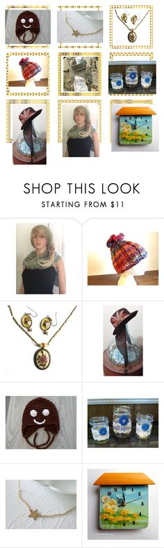 """""""Etsy sellers"""" by solveigakiran ❤ liked on Polyvore featuring NORO, etsy, women, EtsyTeamUnity, etsysellers and handknitted"""
