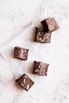 Dark Chocolate Coconut Oil Fudge
