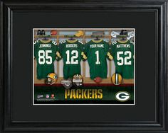 Green Bay Packers Locker Room Photo
