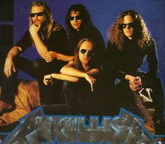 James Hetfield, Jason Newsted, and metallica Bild