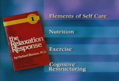 The Relaxation Response: steps to elicit the relaxation response.