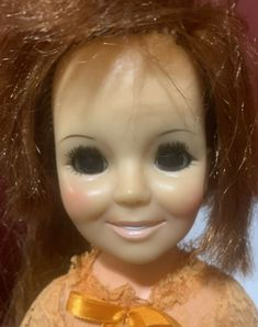 Ideal Crissy Family Grow Hair Vinyl Red-Head Doll Vintage 60-70s #Ideal Dolls For Sale, New Dolls, Long Red Hair, Doll Stands, Doll Parts, Bisque Doll, Child Doll, Doll Head, Grow Hair